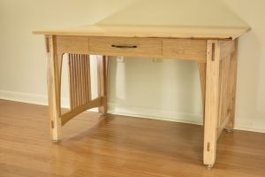 Hickory Art Table